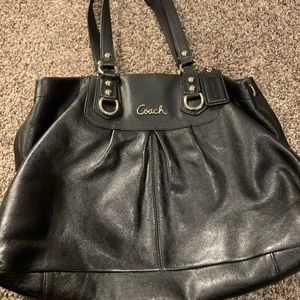 EUC!! Beautiful! Black Coach Ashley Purse MSRP$248